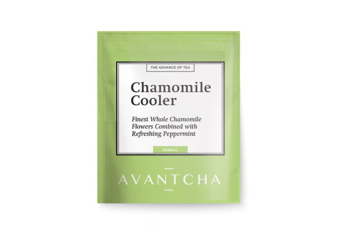 AVANTCHA | Chamomile Cooler Silk Teabag