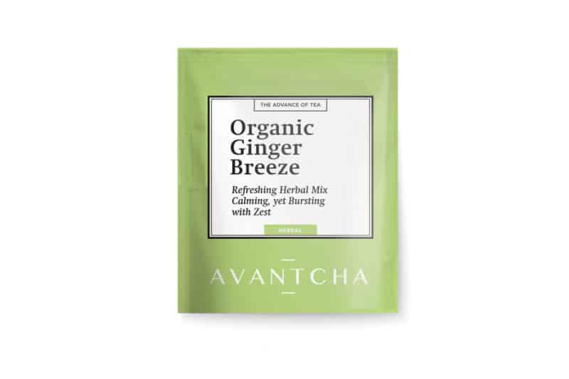 AVANTCHA | Organic Ginger Breeze Silk Teabag