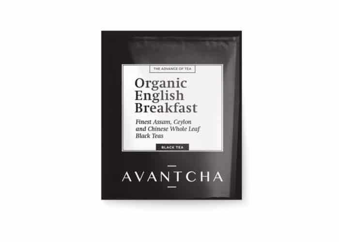 AVANTCHA | Organic English Breakfast Silk Teabag