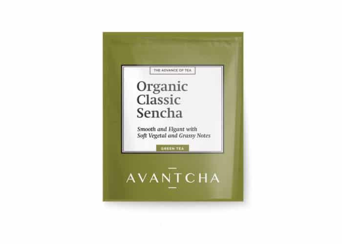 AVANTCHA | Organic Classic Sencha Silk Teabag