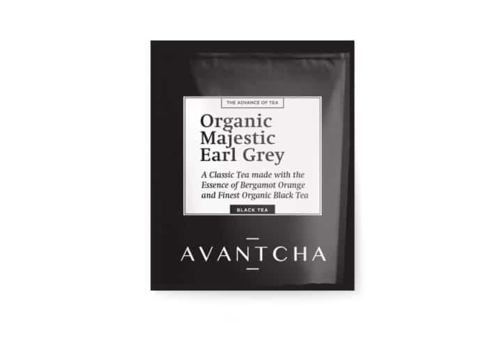 AVANTCHA | Organic Majestic Earl Grey Silk Teabag