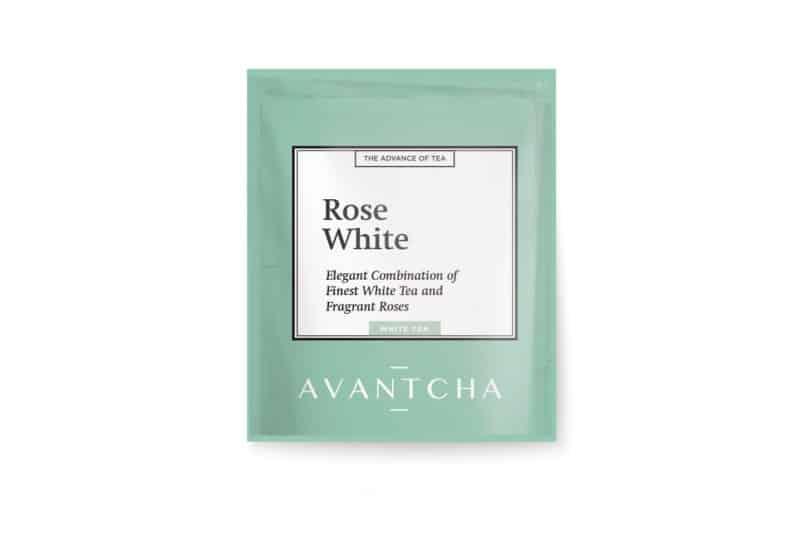 AVANTCHA | Rose White Silk Teabag