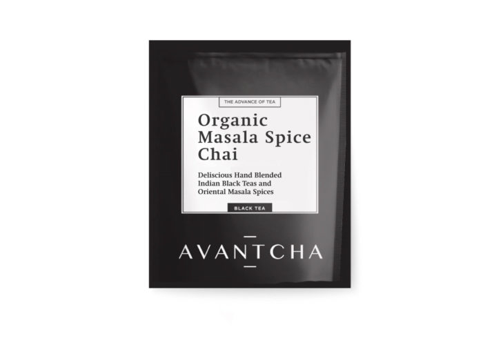 AVANTCHA | Organic Masala Spice Chai | Silk Teabags