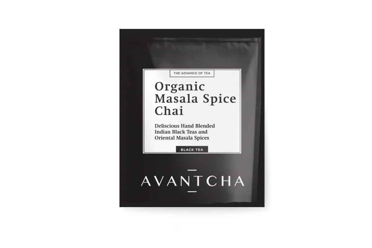AVANTCHA   Organic Masala Spice Chai   Silk Teabags