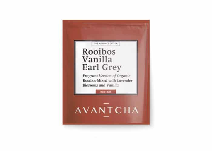 AVANTCHA | Rooibos Vanilla Ear Grey | Silk Teabags