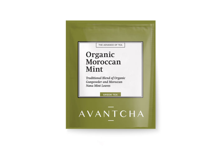 Organic Moroccan Mint Silk Teabags