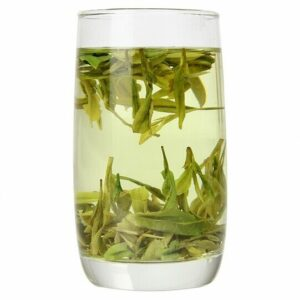 Organic Dragon Well Long Jing in water