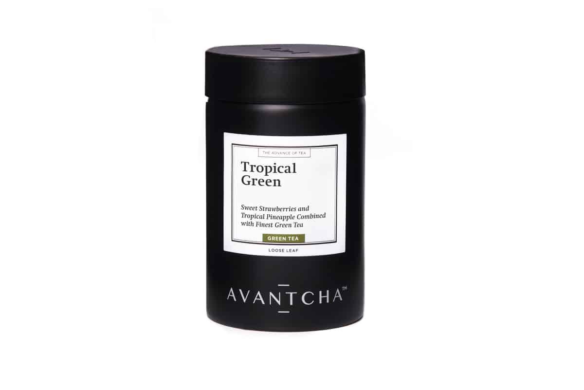 AVANTCHA Tropical Green tin