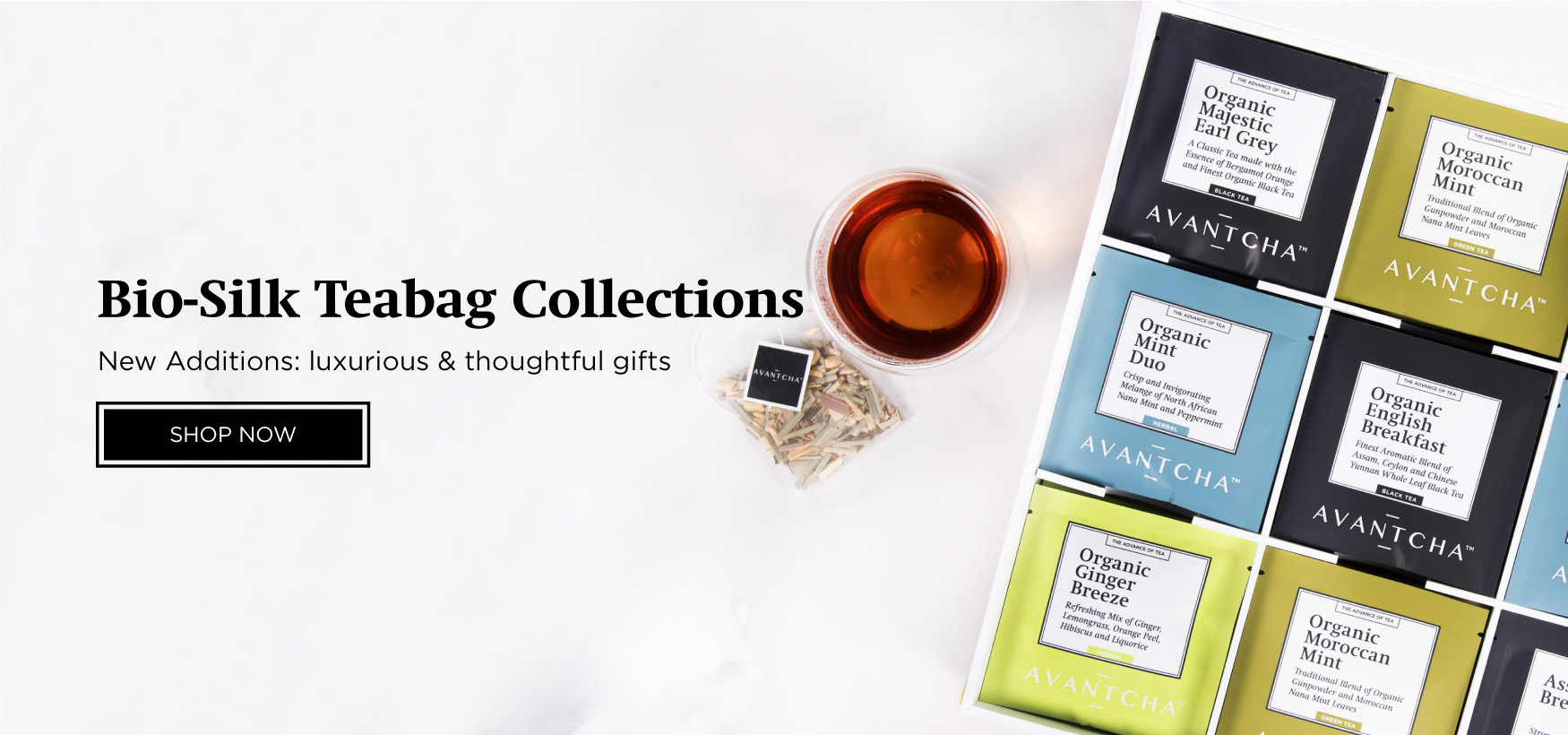 Bio-Silk Teabag Collection