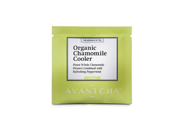Organic Chamomile Cooler Teabag Closed_Web