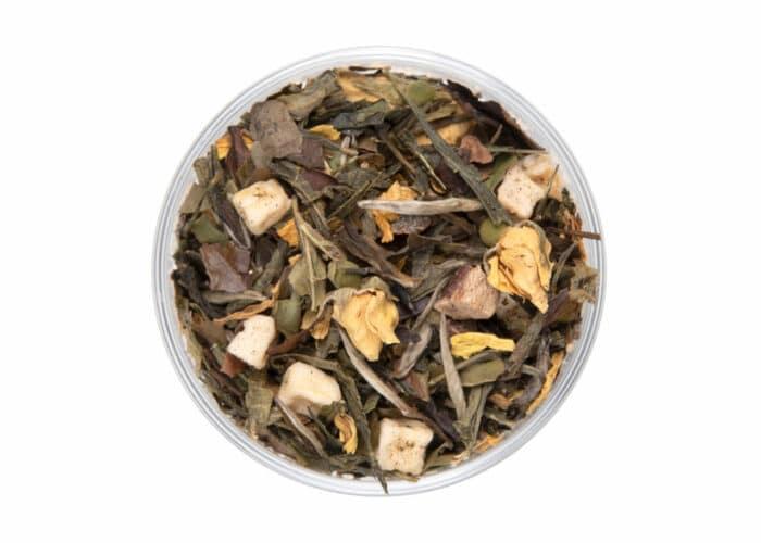 Peach and Pear White Tea Silk Teabag